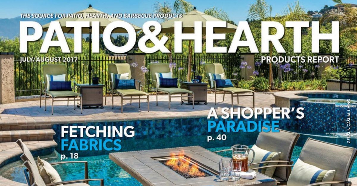 Patio & Hearth Products Article About United Brick And