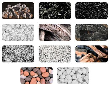 various types of materials