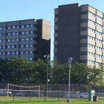 UW Eau Claire dorm building